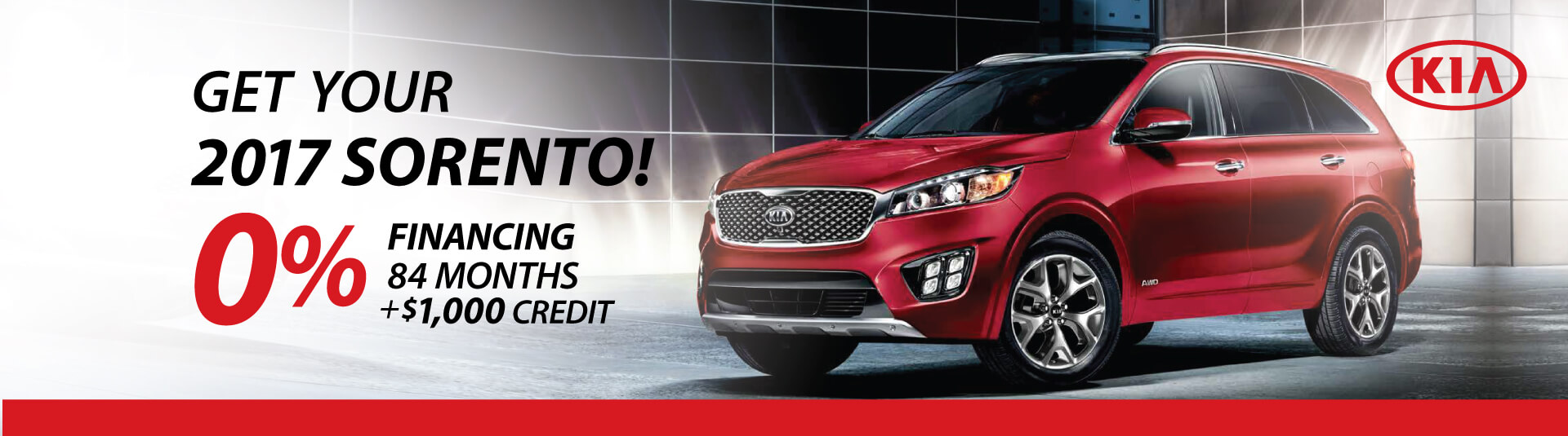 Kia Sorento Finance Deal